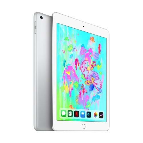 Apple iPad 2018 128 GB Wifi + 4G (Zilver)