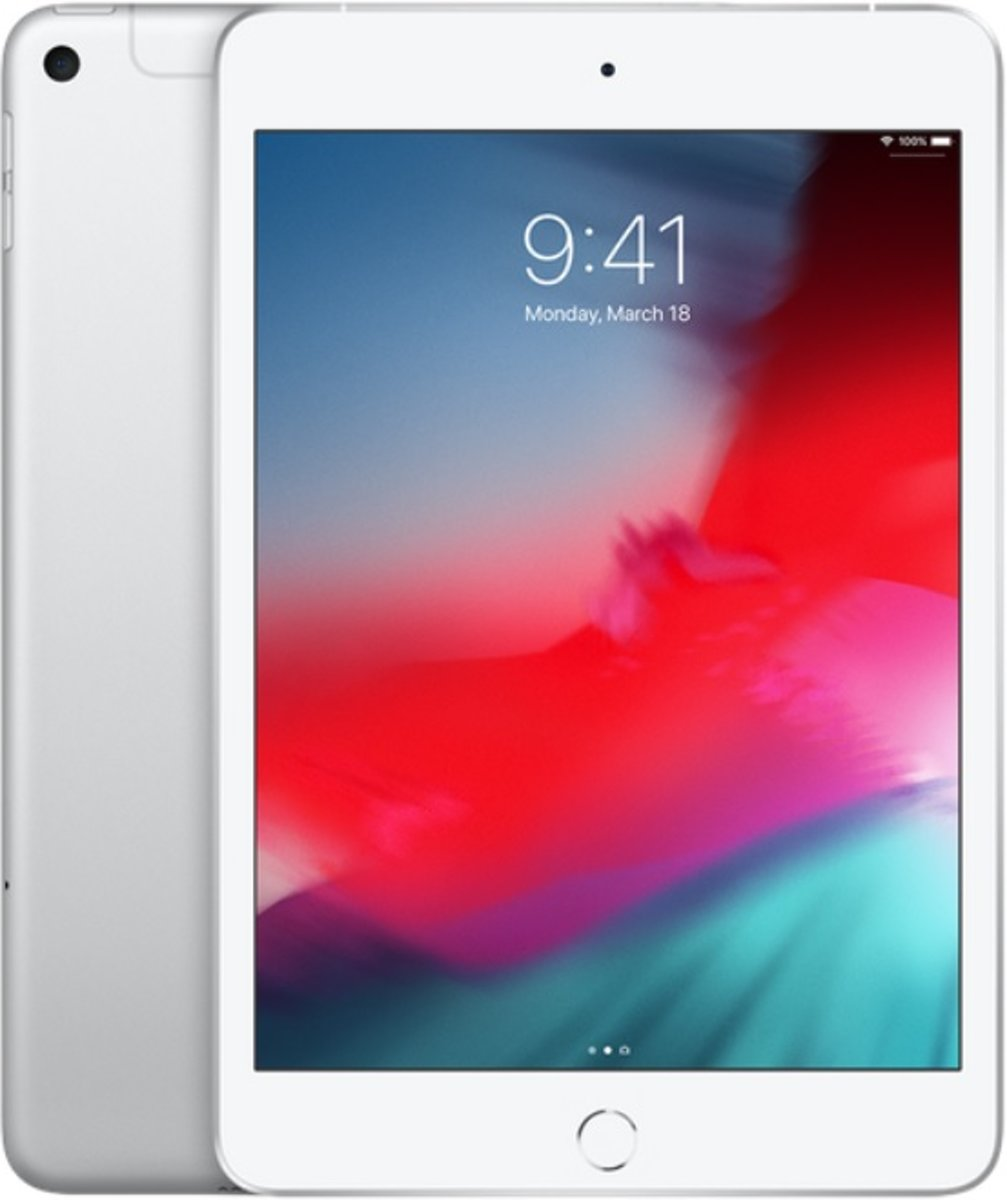Apple iPad mini Wi-Fi + Cellular 64GB (Zilver)