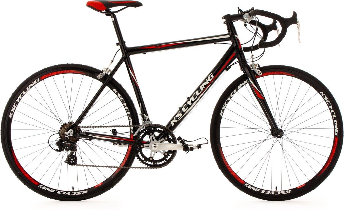 Ks Cycling Fiets Zwarte 28