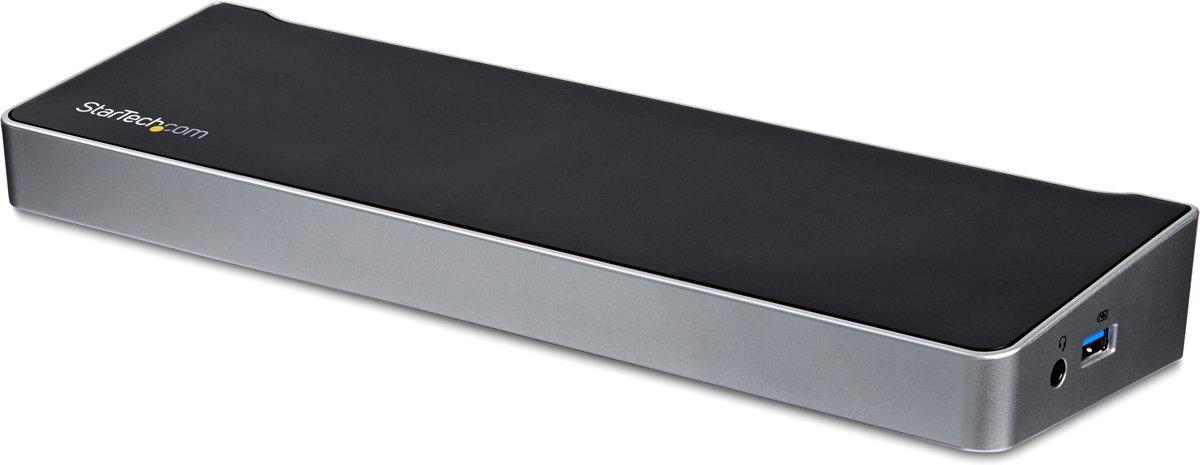 Triple-Video Docking Station for Laptops