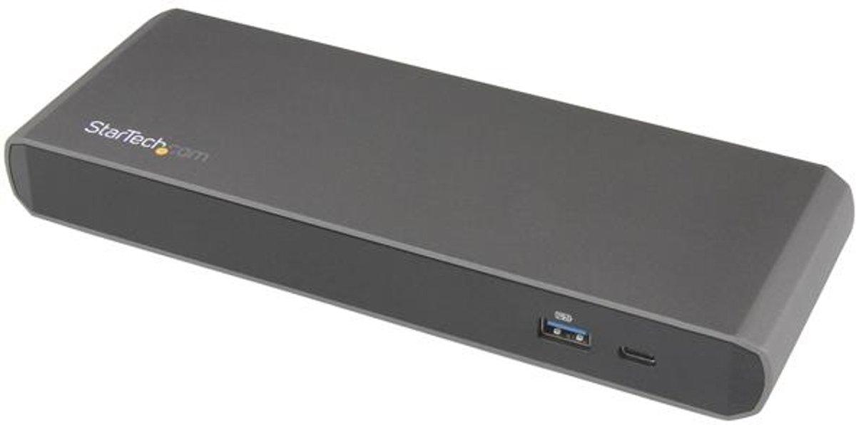 StarTech.com Thunderbolt 3 Dual-4K laptop docking station met 3x USB 3.0 poorten