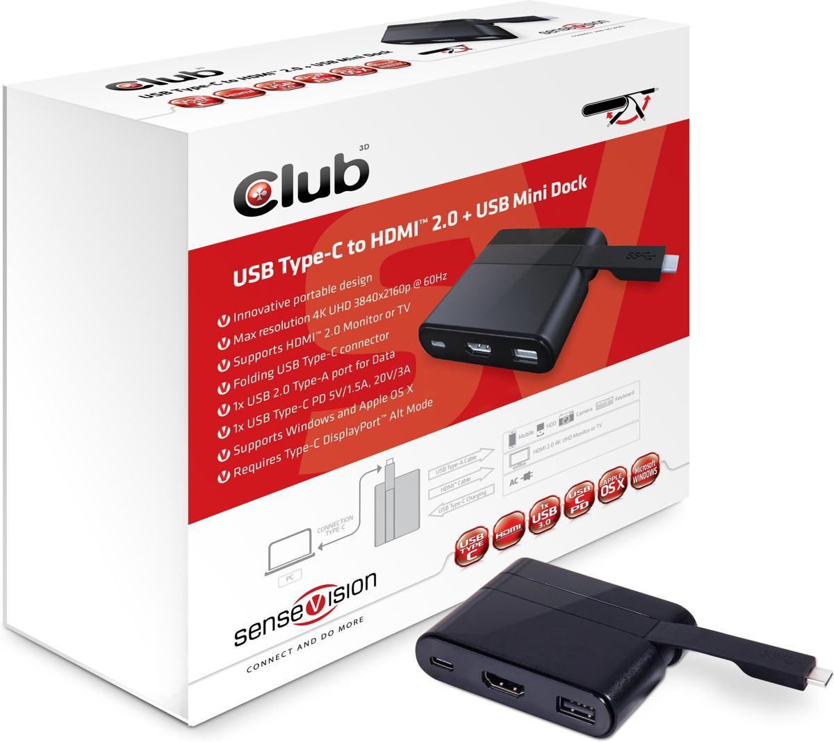 MINI USB 3.0 TYPE C DOCKING STATIONHDMI