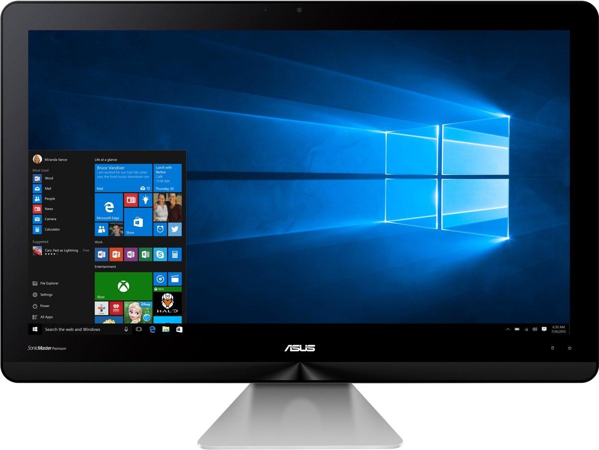 ASUS Zen AiO ZN220ICUK-RA012X 54,6 cm (21.5'') 1920 x 1080 Pixels 2,3 GHz Zesde generatie Intel Core i3 i3-6100U Grijs Alles-in-n-pc