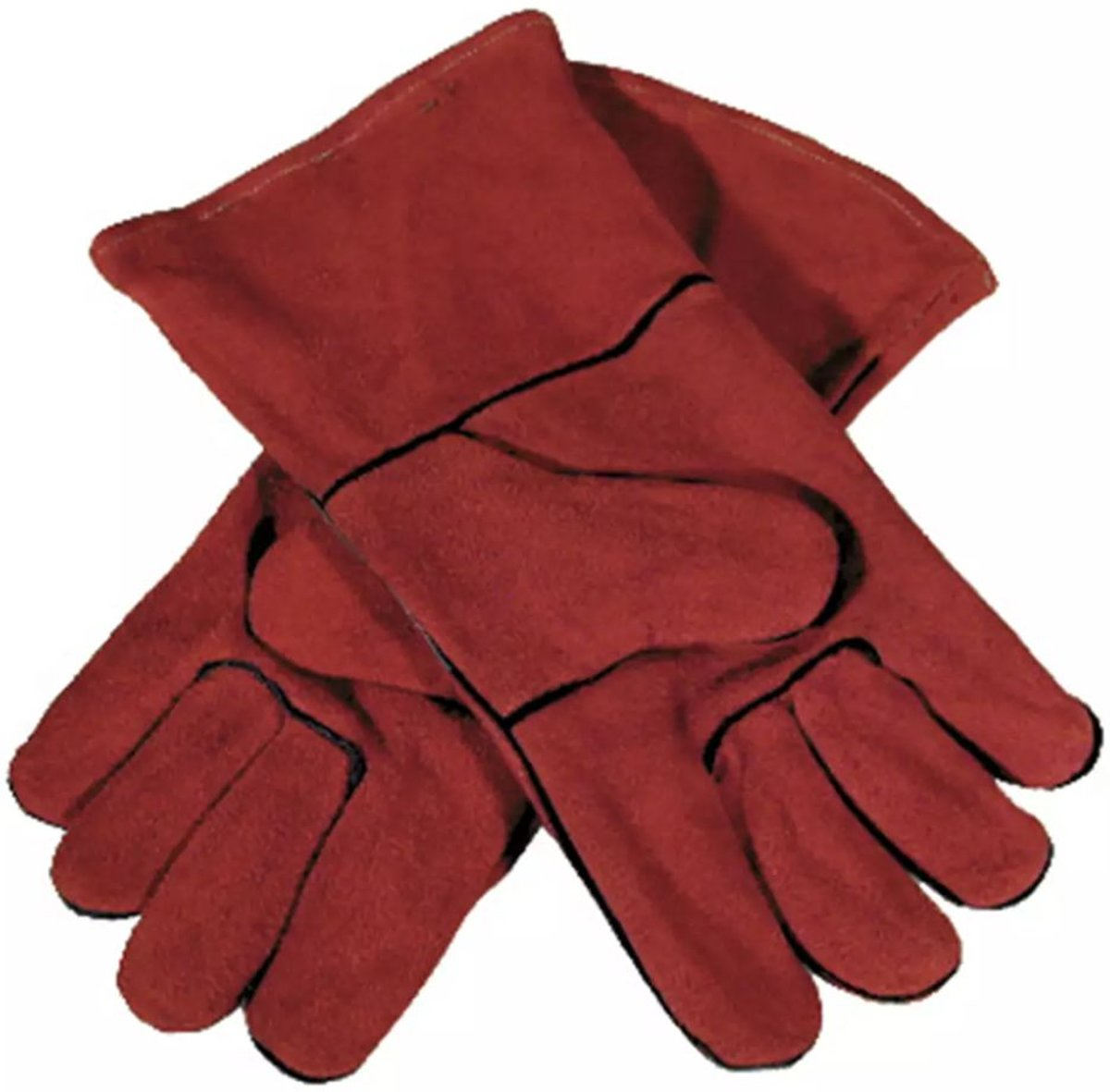 Runder splitleer Lashandschoen Maat (handschoen): 10 EN 388-2003 , EN 407-04 Toparc 045101 1 paar