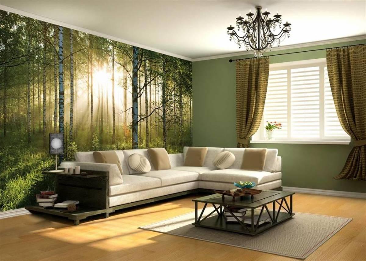 - Forest - 232 x 315 cm hxb - Groen