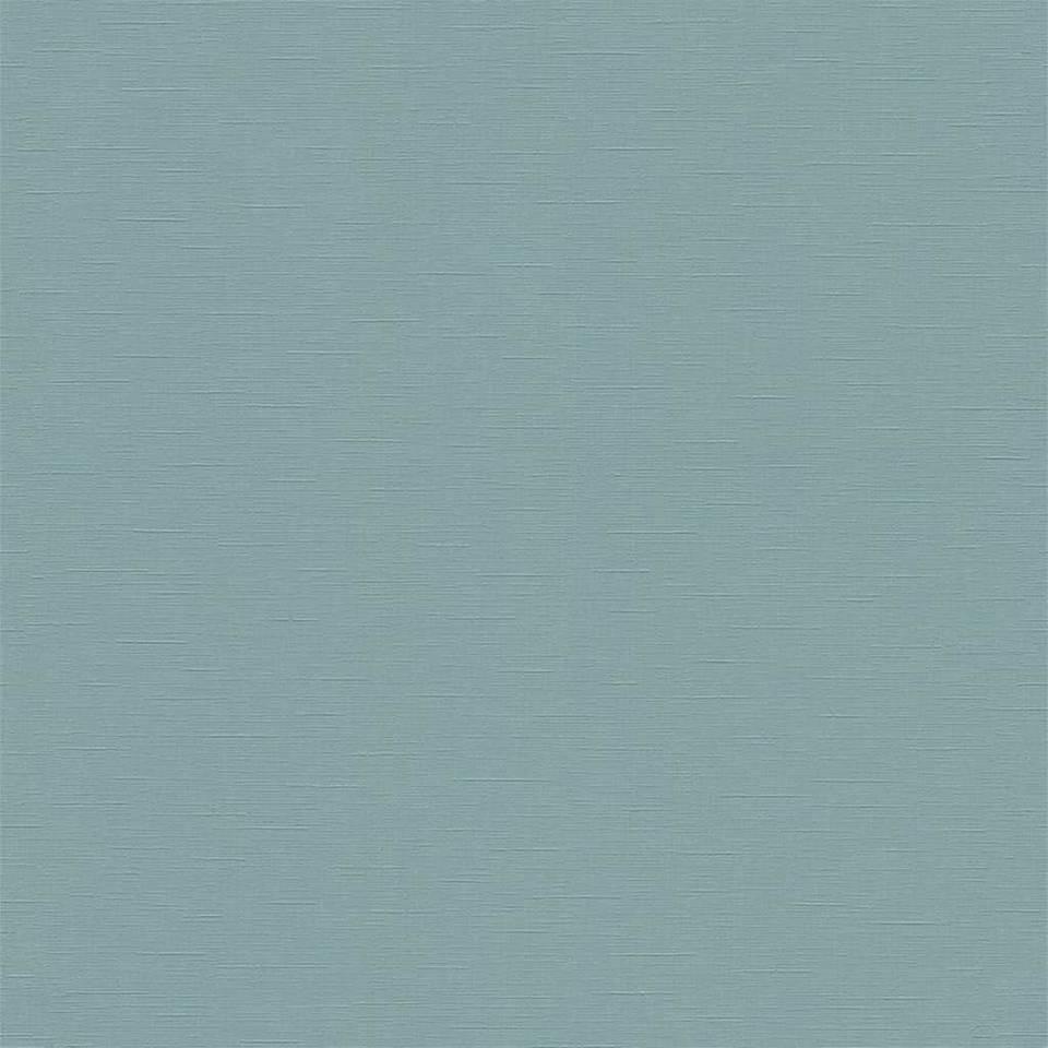 DUTCH WALLCOVERINGS Behang effen blauwgroen 02504-00