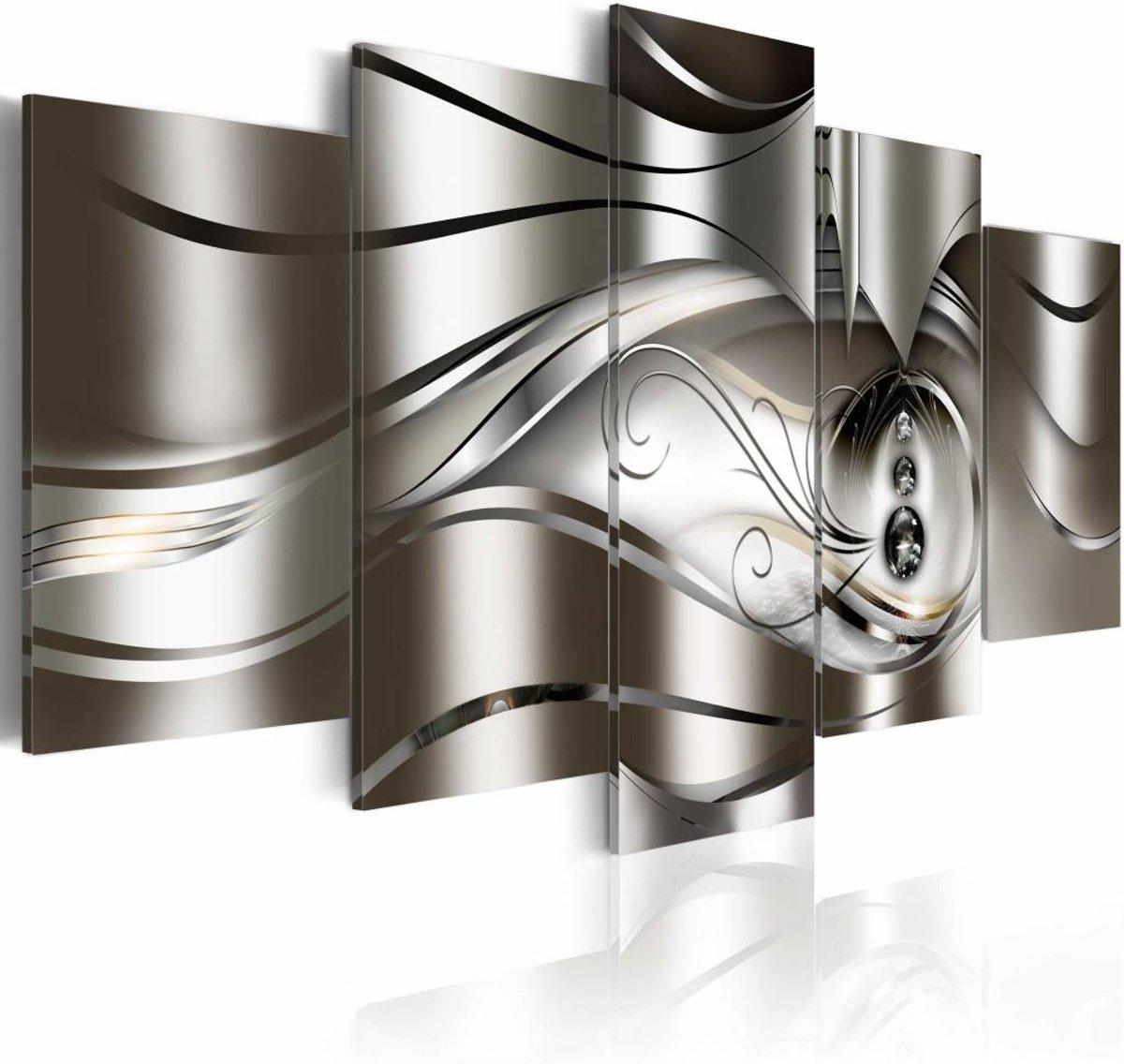 Schilderij - Diamond drops - 200x100