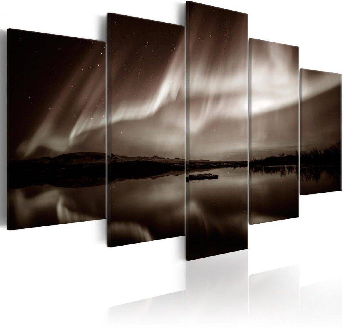 Schilderij - Light from the Sky II - 100x50
