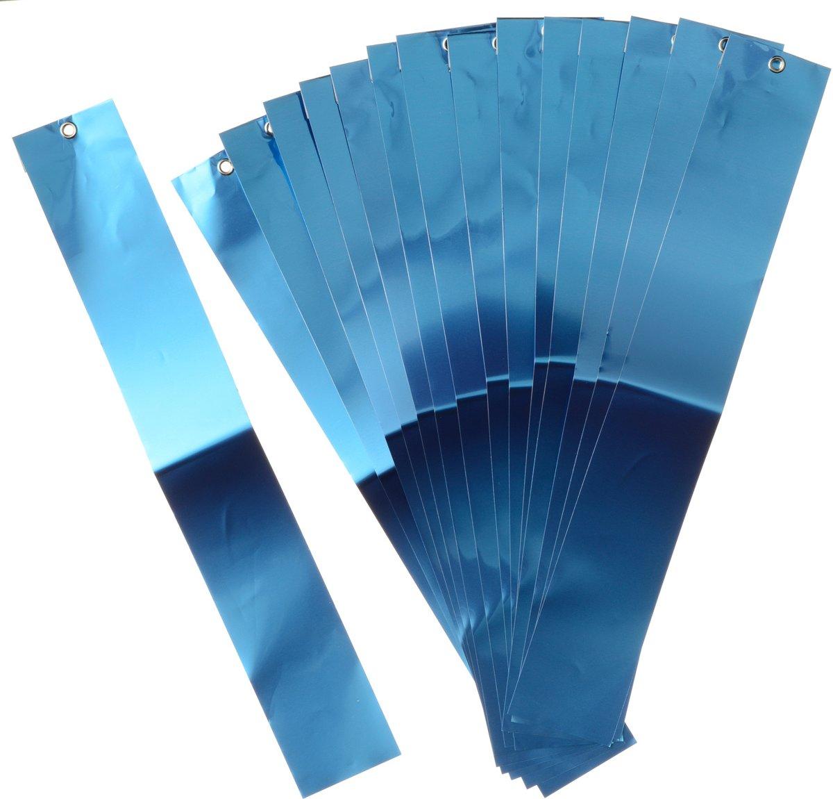 Vogelschrikstrips aluminium 29,5x4,5cm set a 15 stuks Nature