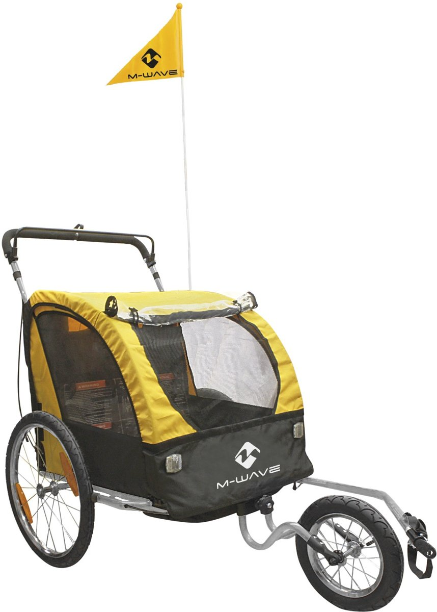 M-Wave Carry All 3 in 1 20 Inch Unisex Geel
