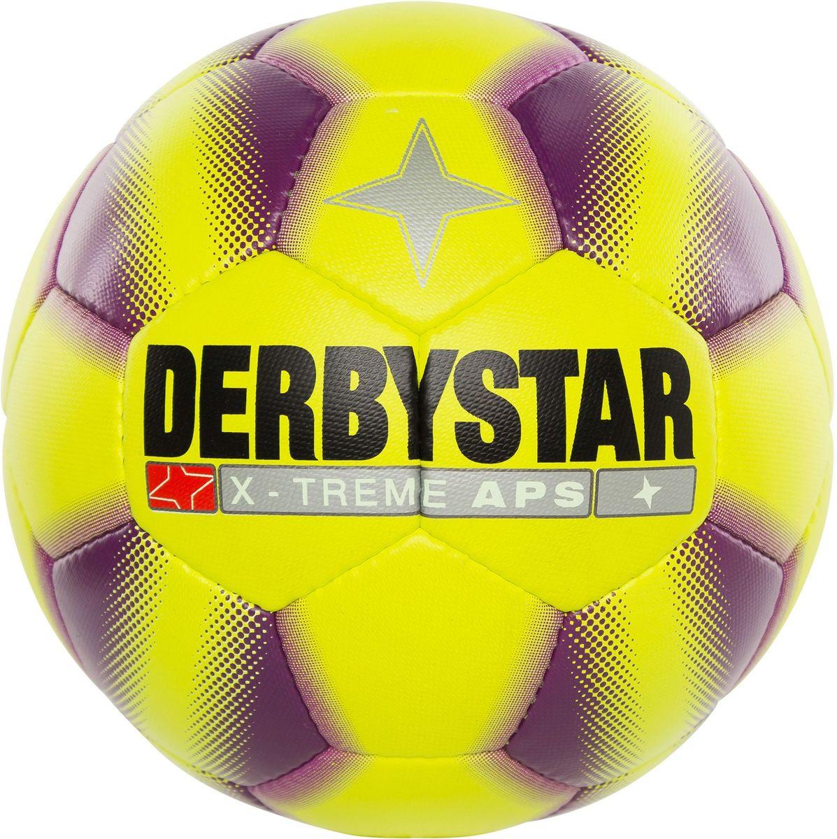 Derbystar X-treme - Voetbal - Geel - Maat 5 - 286993-4850-5