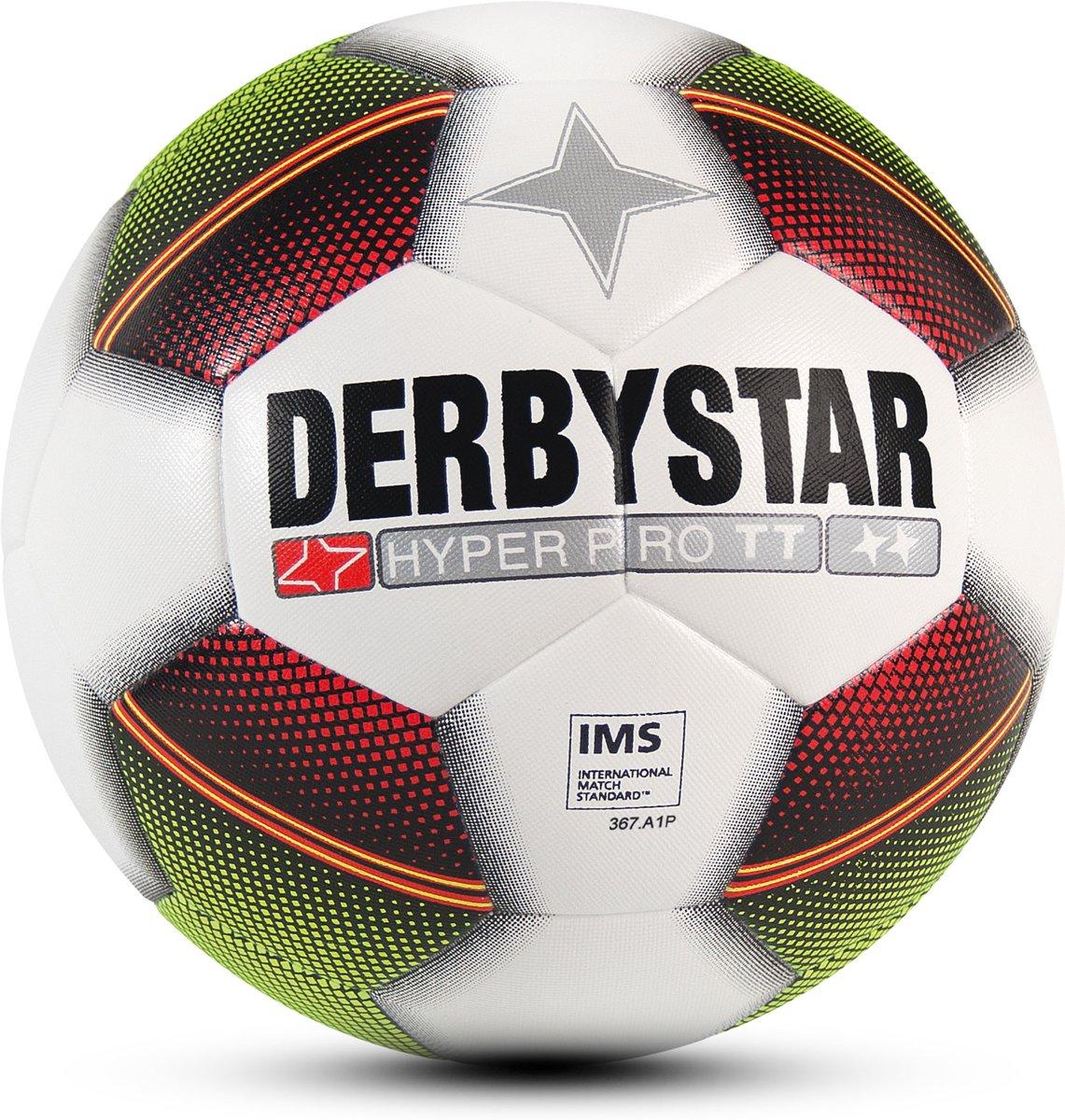 Derbystar VoetbalKinderen en volwassenen - wit/rood/geel