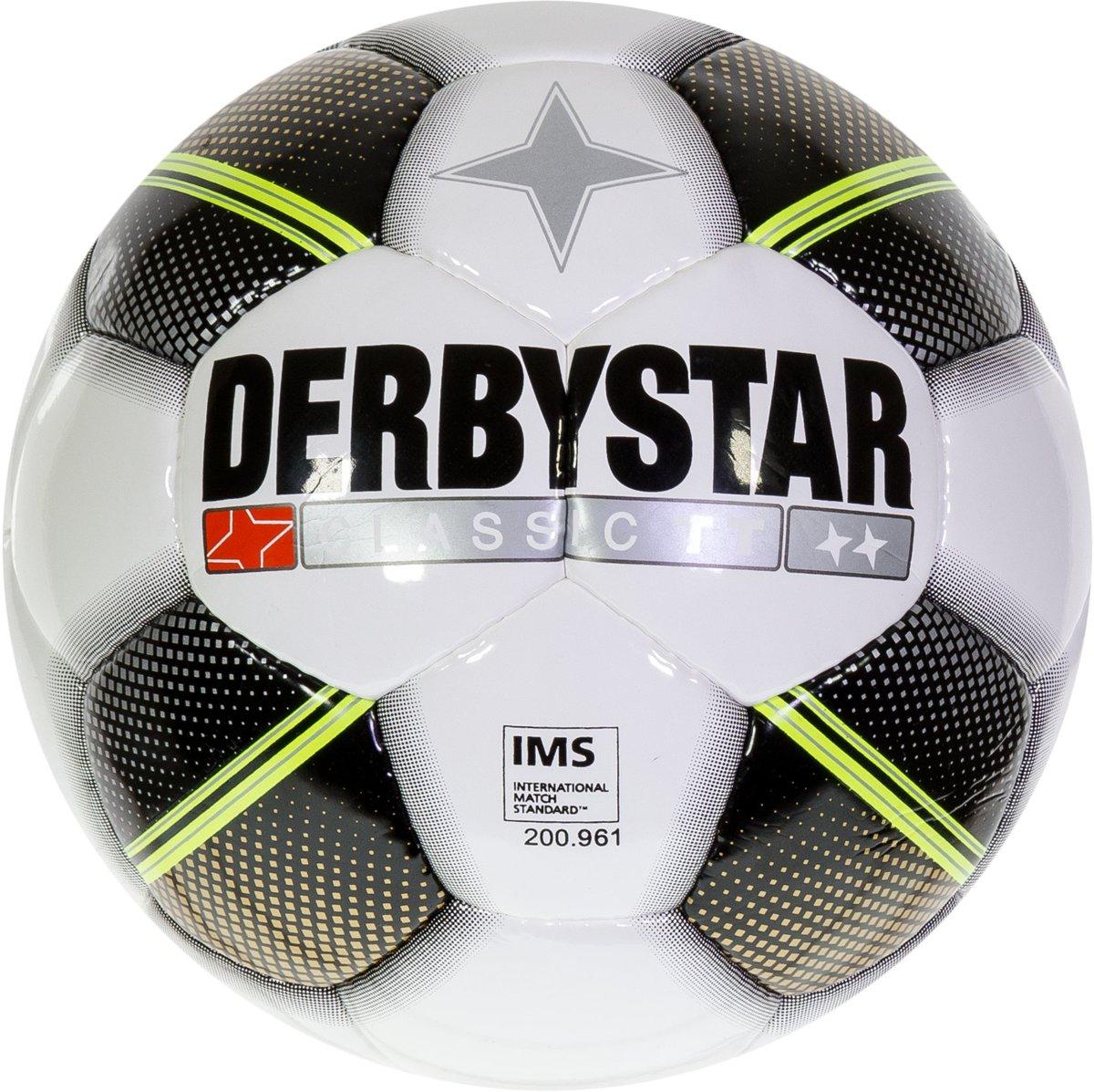 Derbystar Classic TT - wit/zwart/goud