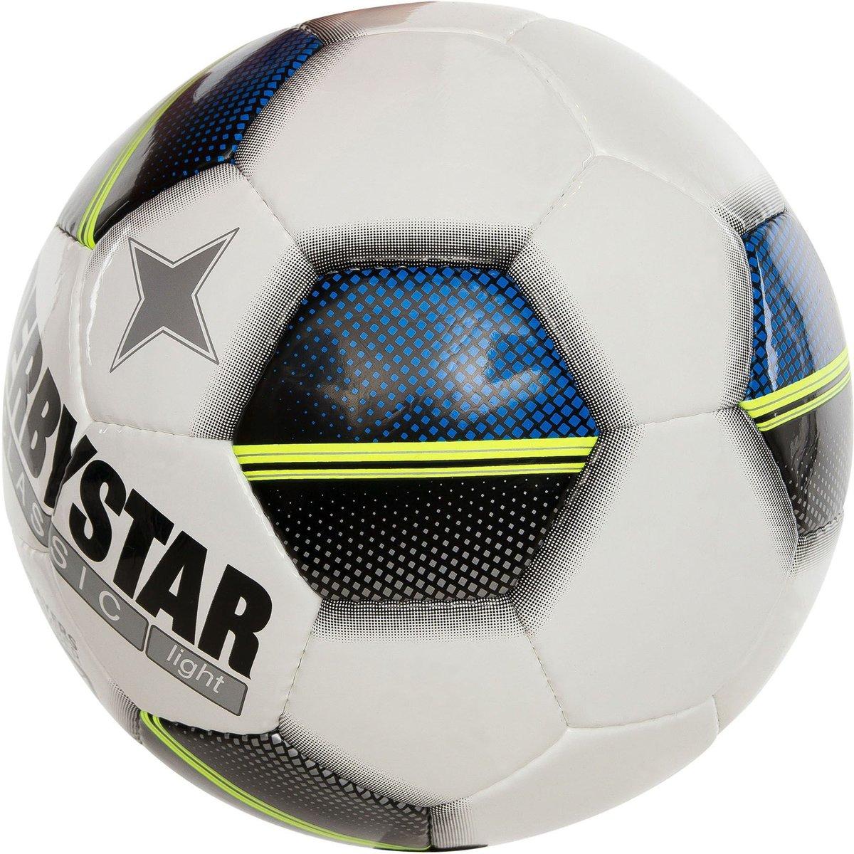 Derbystar VoetbalVolwassenen - wit/blauw/geel/zwart