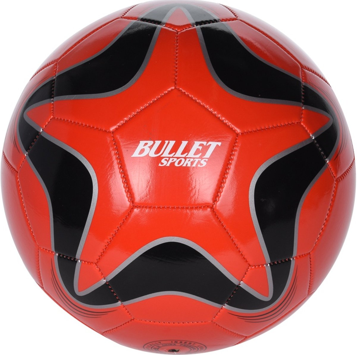 Free And Easy Bullet Sports Voetbal Maat 5 Rood