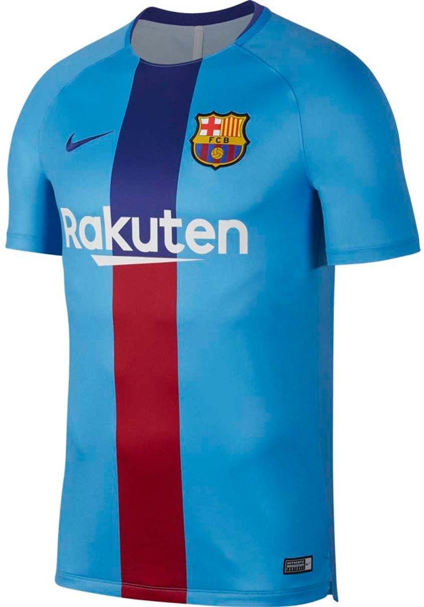 Nike FC Barcelona Dry Squad Trainingsshirt 2018-2019 Blauw Rood