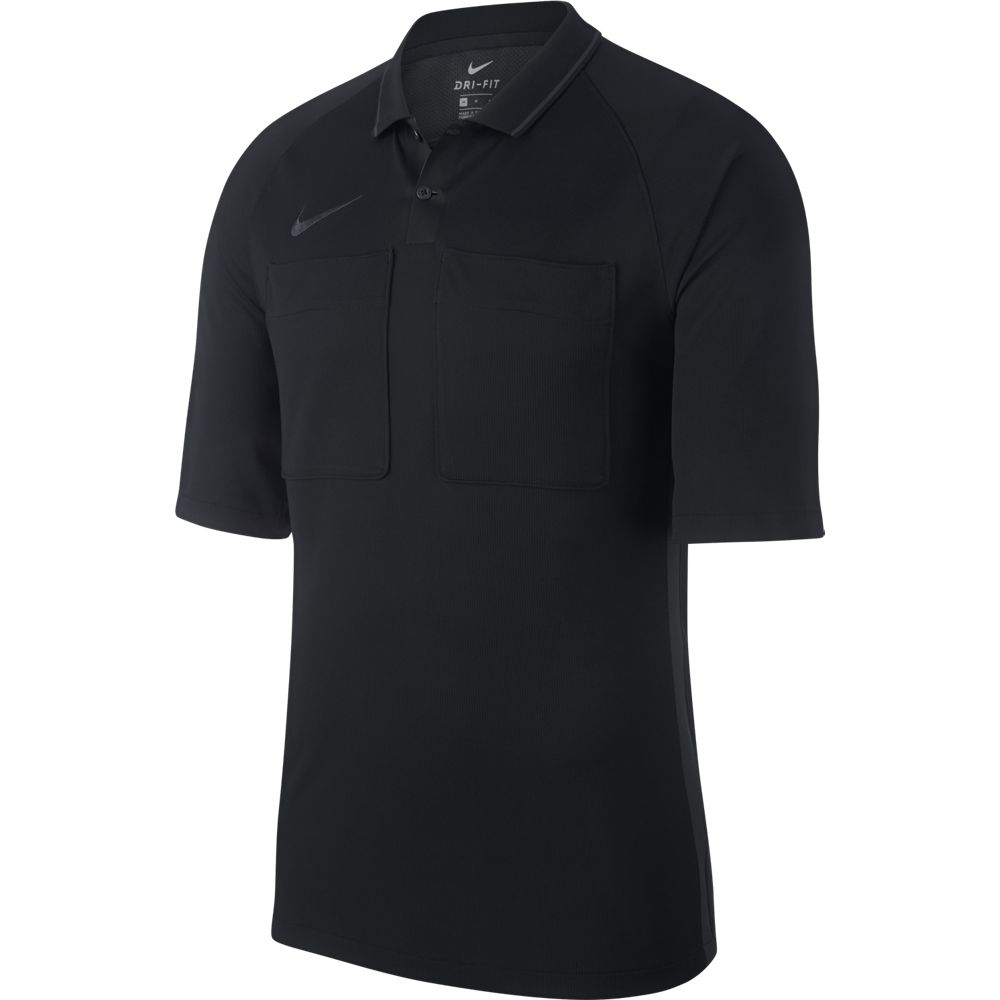 Nike Dry Scheidsrechtersshirt Zwart Antraciet