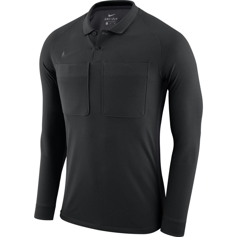 Nike Dry Scheidsrechtersshirt Lange Mouwen Black Anthracite