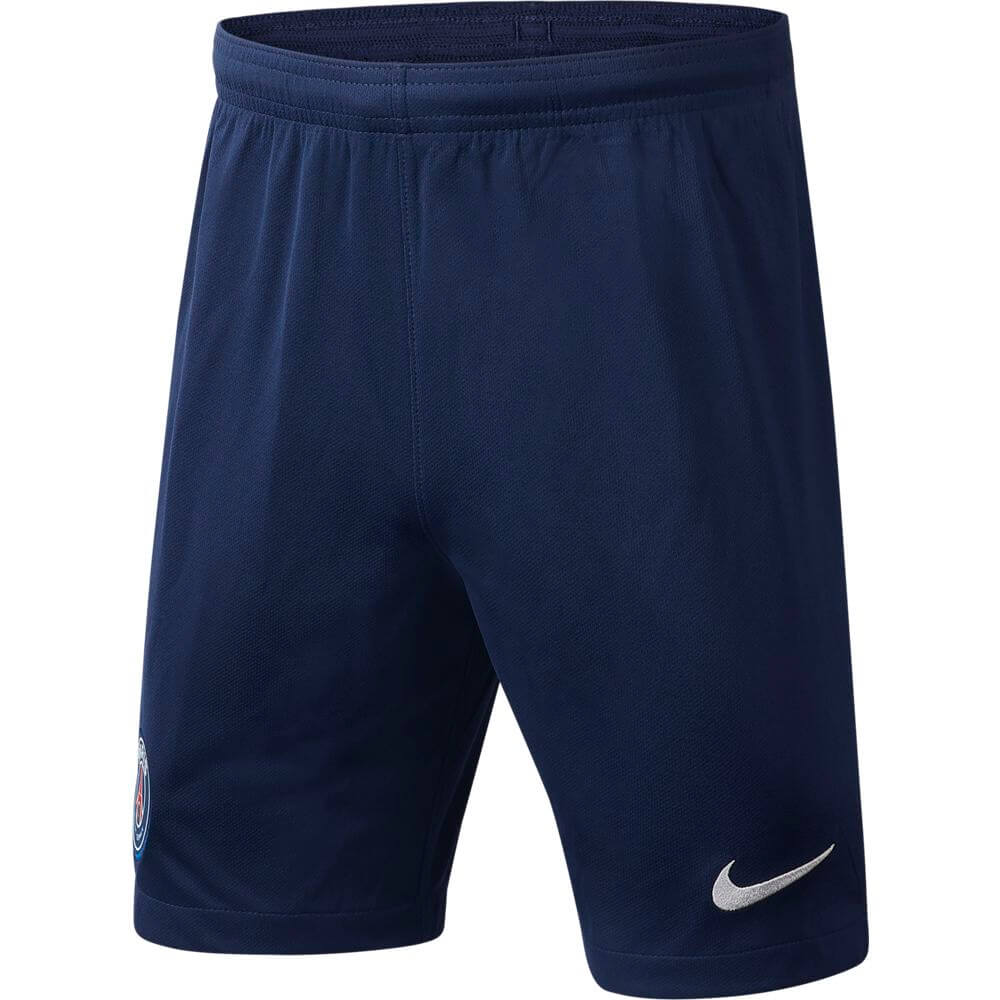 Nike Paris Saint Germain Voetbalbroekje 2019-2020 Kids Blauw