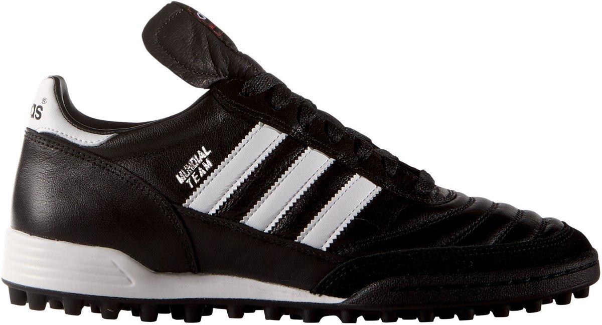 adidas Mundial Team - Kunstgrasvoetbalschoenen - Volwassenen - Maat 39 1/3 - Black/ White