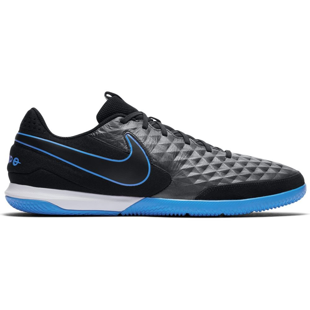 Nike Tiempo Legend 8 ACADEMY Zaalvoetbalschoenen Zwart Zwart Blauw