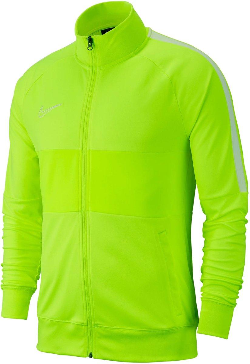 Nike Dry Academy19 Trainingsjack Geel Wit