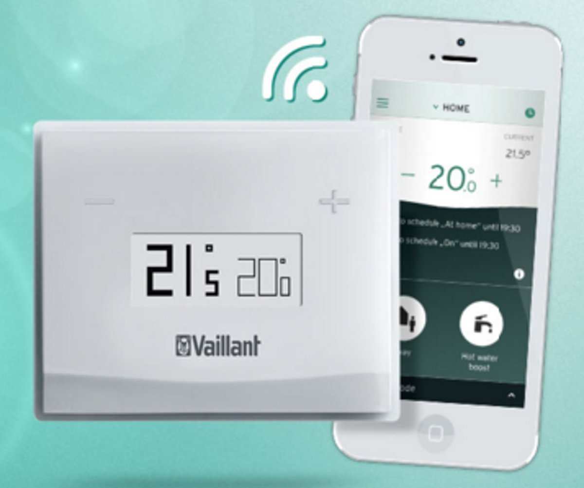 Vaillant vSMART slimme thermostaat, wit