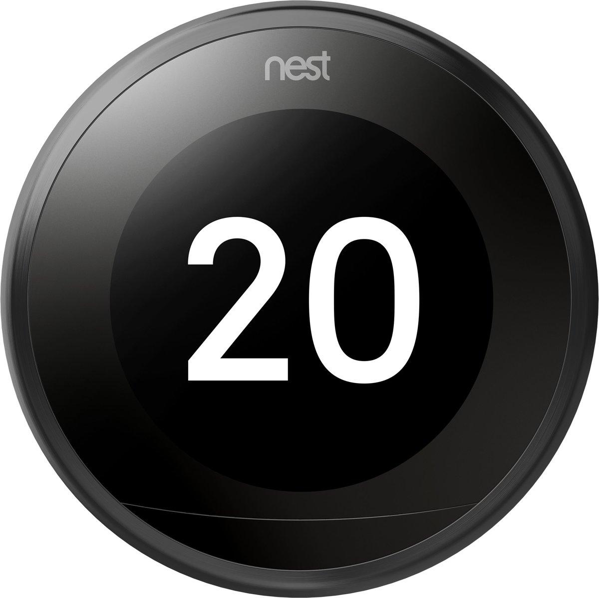 Nest Thermostat 3rd Gen (Zwart)