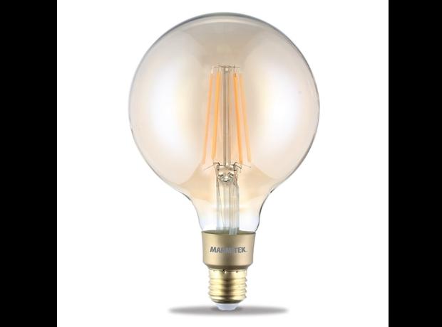 Marmitek GLOW XXLI - Smart Wi-Fi LED filament bulb XXL - E27 | 650 lumen | 6 W = 40 W