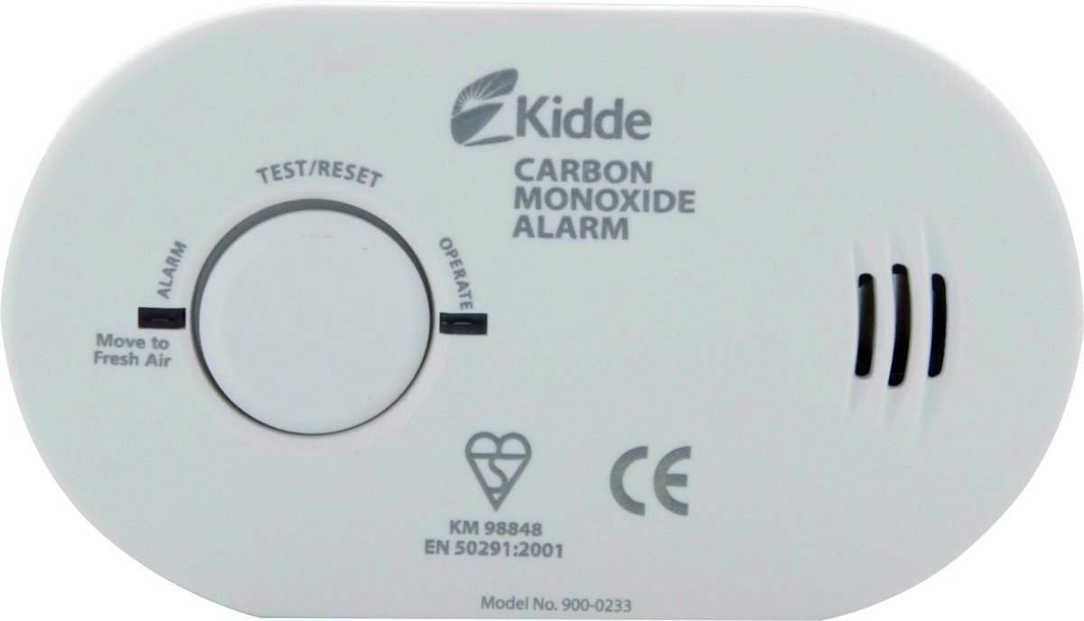 Kidde - Koolmonoxide melder - Compact - 85 Decibel
