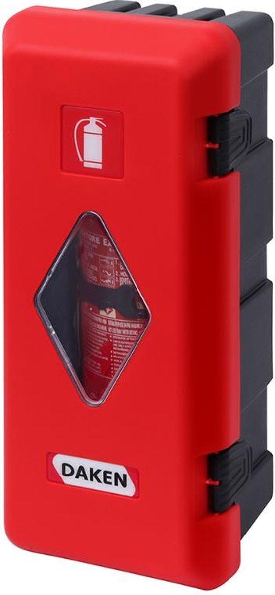 Daken Brandblusserbox Geschikt Voor: 170 - 190 Mm Rood/zwart