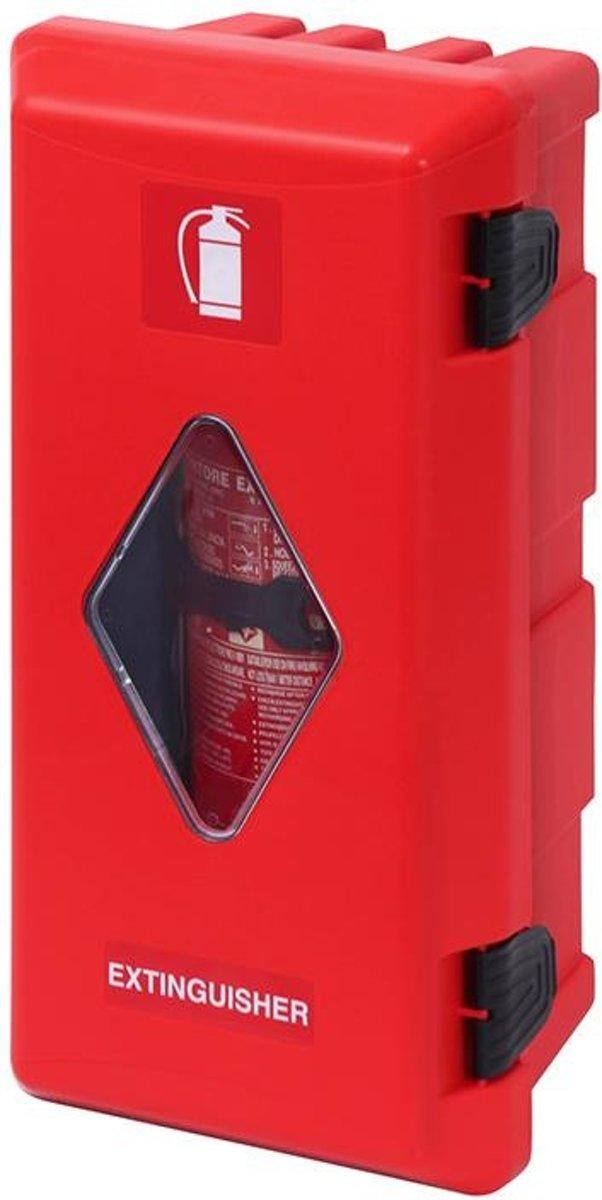 Pro+ Brandblusserbox ?150-170mm rood/rood met zichtvenster