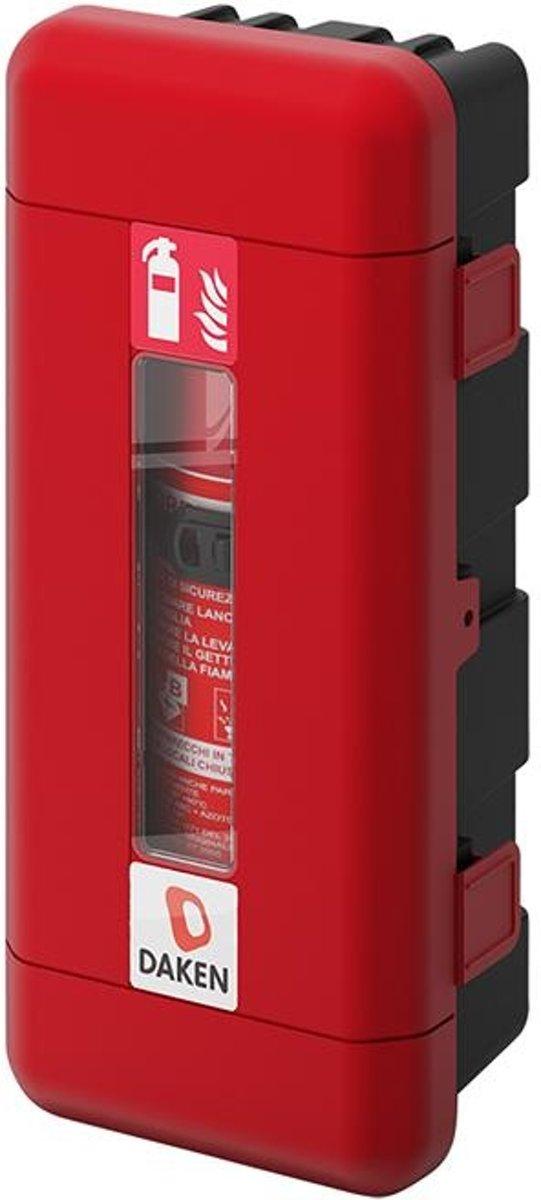 Daken Brandblusserbox Geschikt Voor: 170 - 190 Mm Zwart/rood