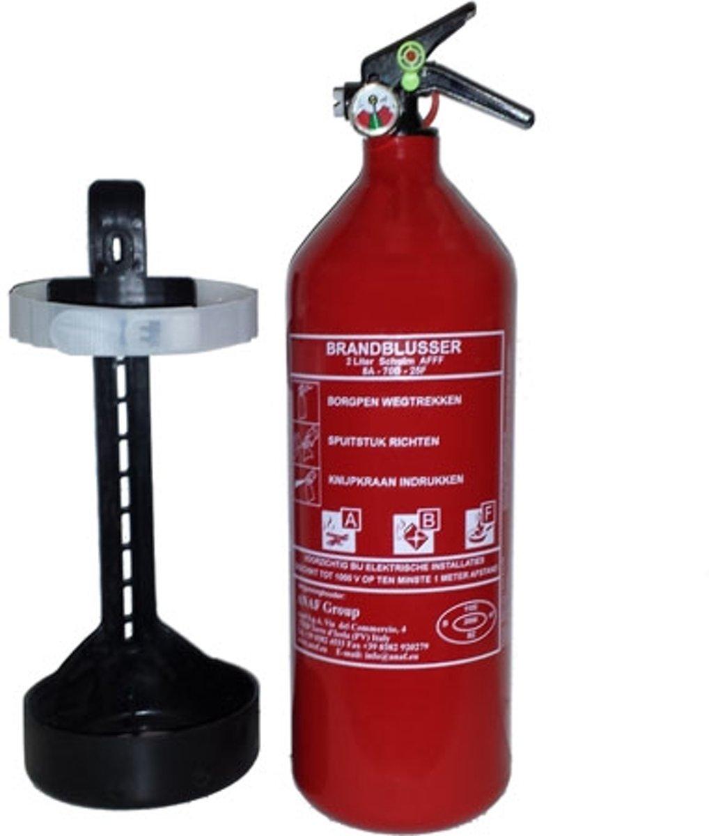 Schuimblusser 2 liter A, B en F ( Vet ) Inclusief 1 jaar keuring.