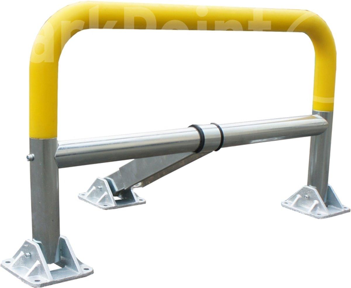 Parkeerbeugel handmatig VISO STOPUSH-Verschillend sluitende cilinder