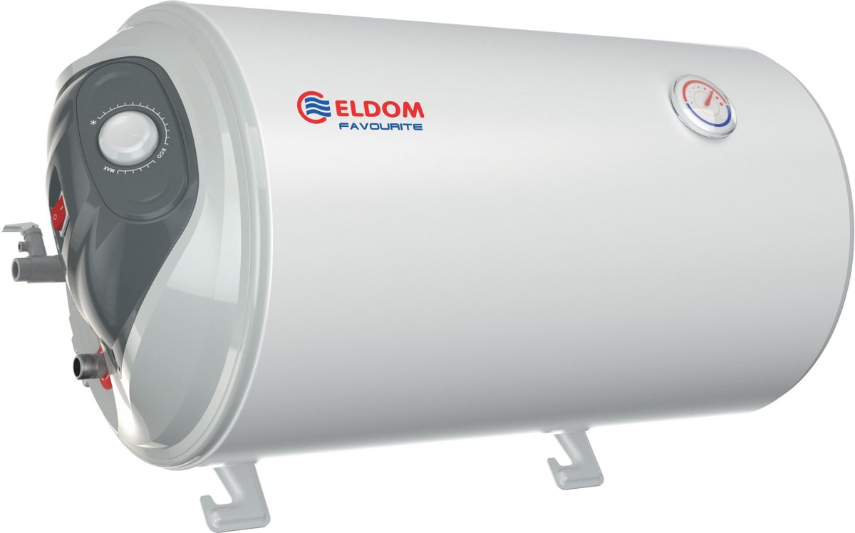 Eldom FAVOURITE 50 liter boiler 2 kW, Hor. bediening links