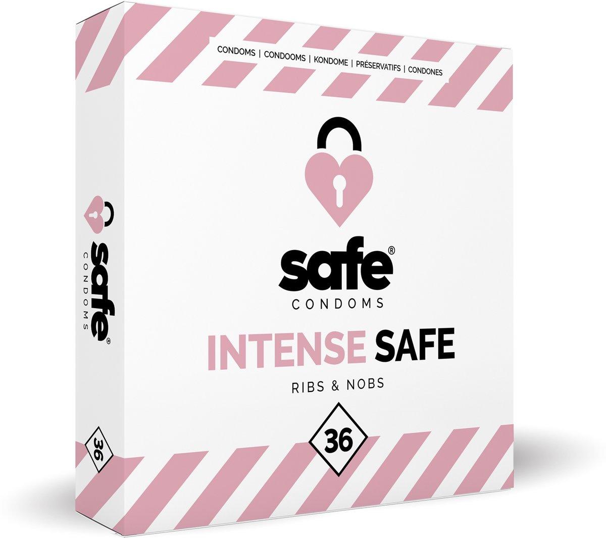 Safe Intense Safe Condooms (Ribs & Nobs)