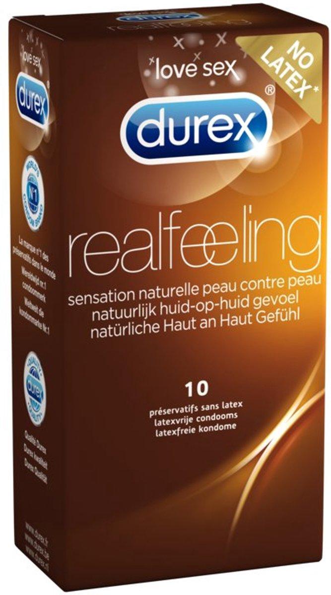 Durex Real Feeling Condooms - 3 x 10 stuks