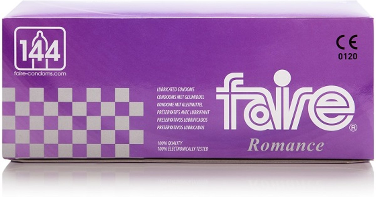 Faire Condooms - 1000 stuks (7 x 144st)