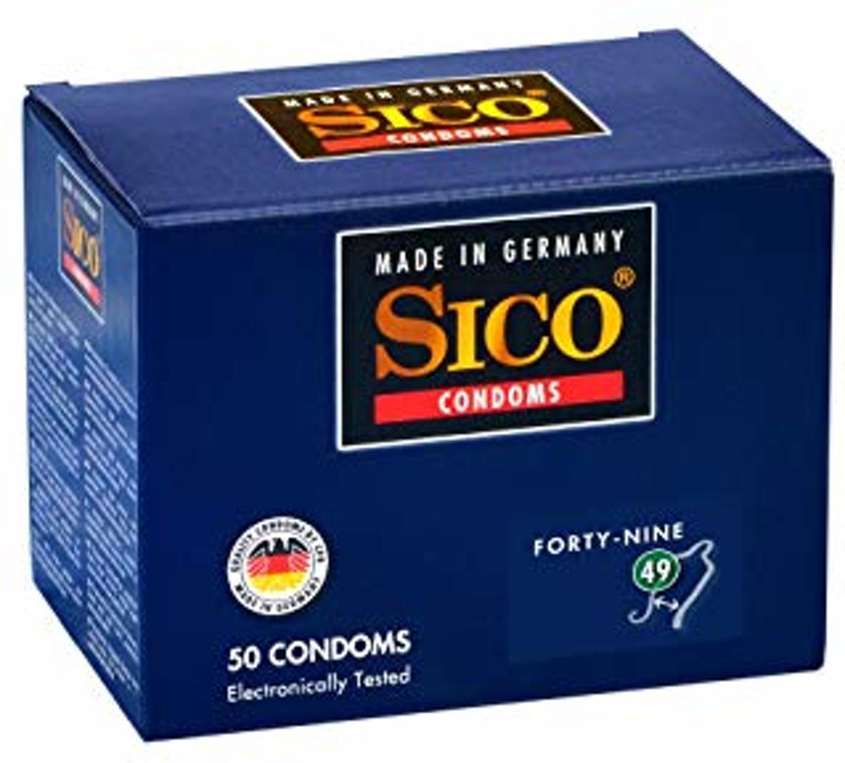 Sico 49 (Forty-Nine) Condooms