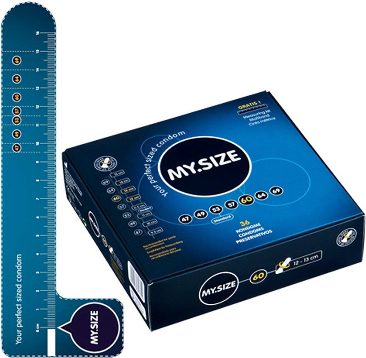 My.Size 60 Condooms - 36 stuks
