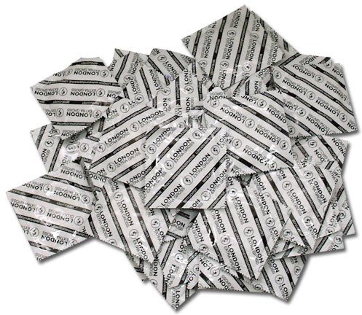 Durex London XL Condooms grootverpakking - 100 stuks