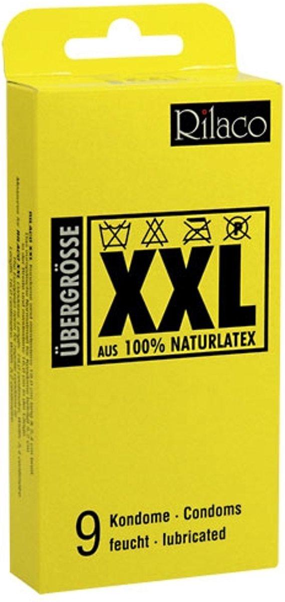 Rilaco XXL - 9 stuks - Condooms