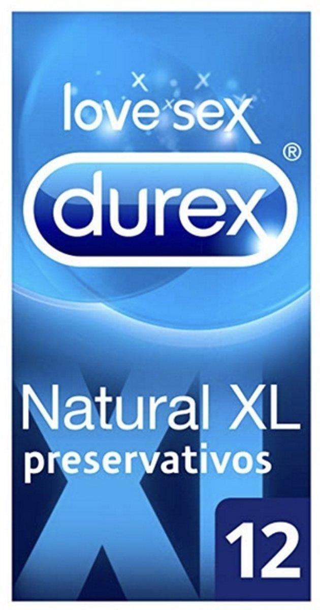 Condooms Natural XL Durex (12 uds)