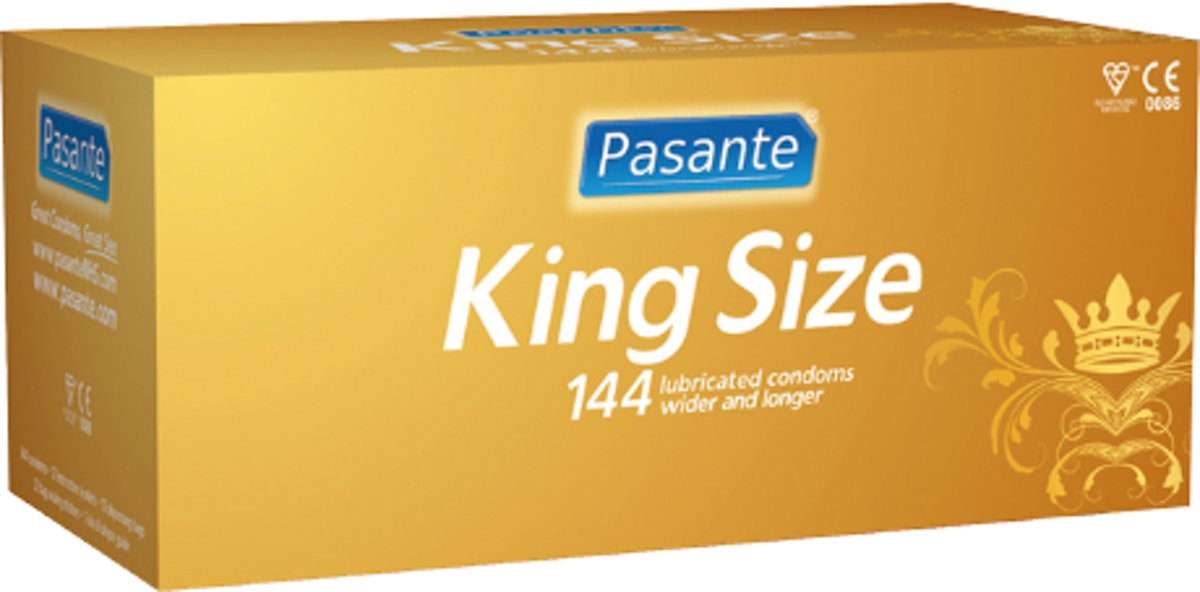 King Size XXL Condooms (144 stuks)