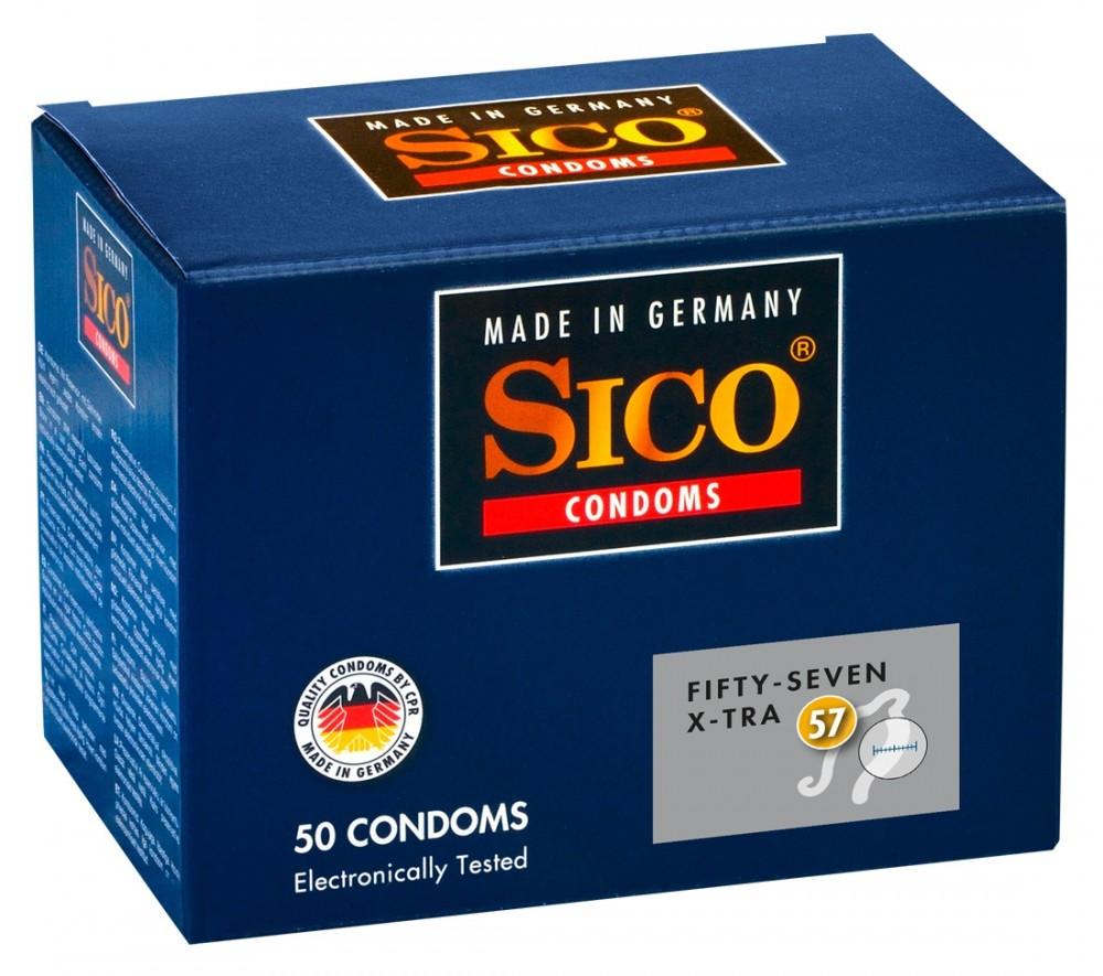 Sico 57 (Fifty-Seven) X-Tra Condooms