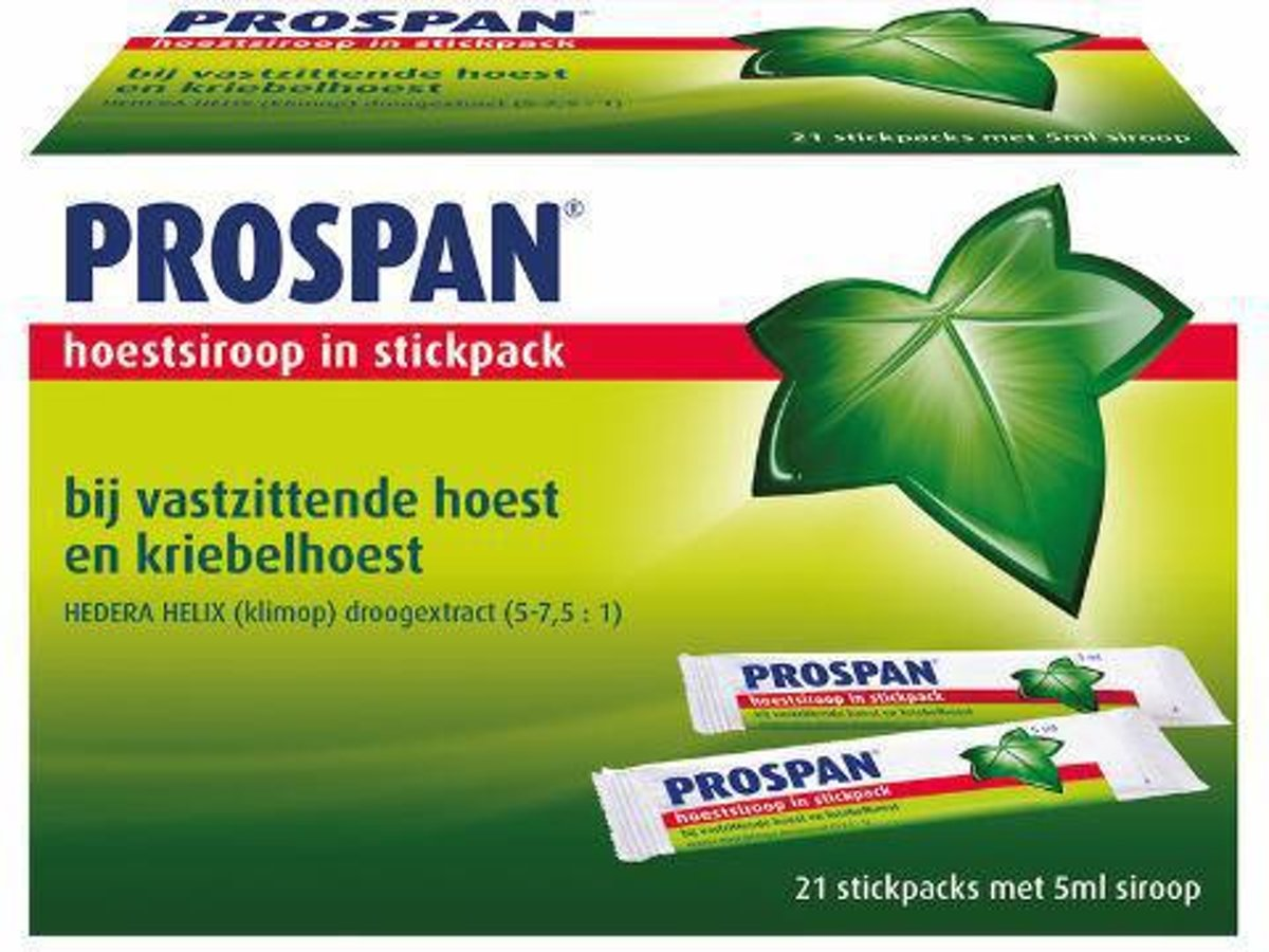 Propan Hoestsiroop sticks 21 stuks