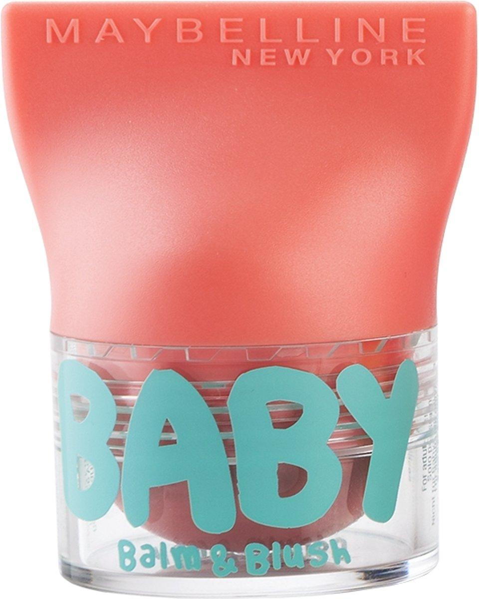 Maybelline Babylips Balm & Blush - 01 Innocent Pie - Roze - lipbalm & Blush in één