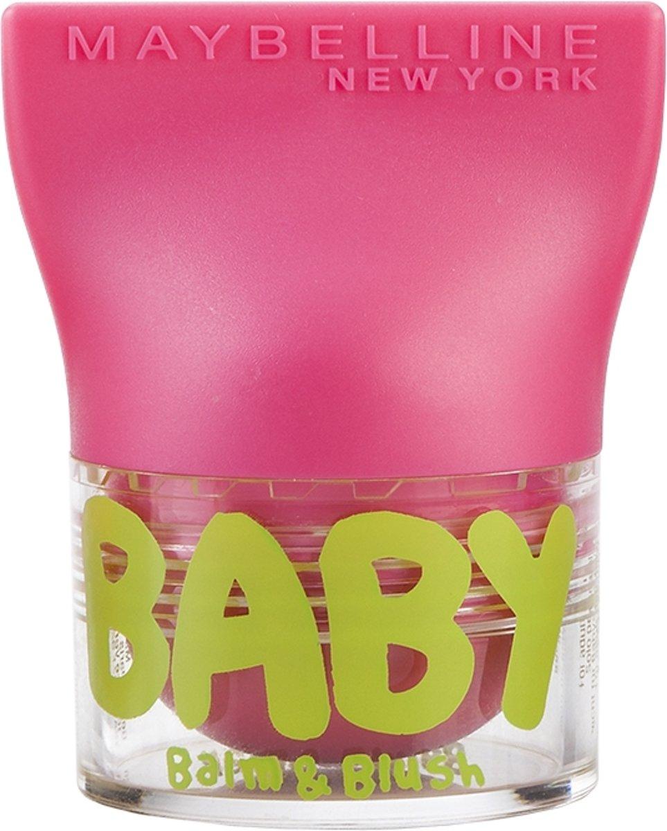 Maybelline Babylips Balm & Blush - 02 Flirty Pink - Roze - lipbalm & Blush in één