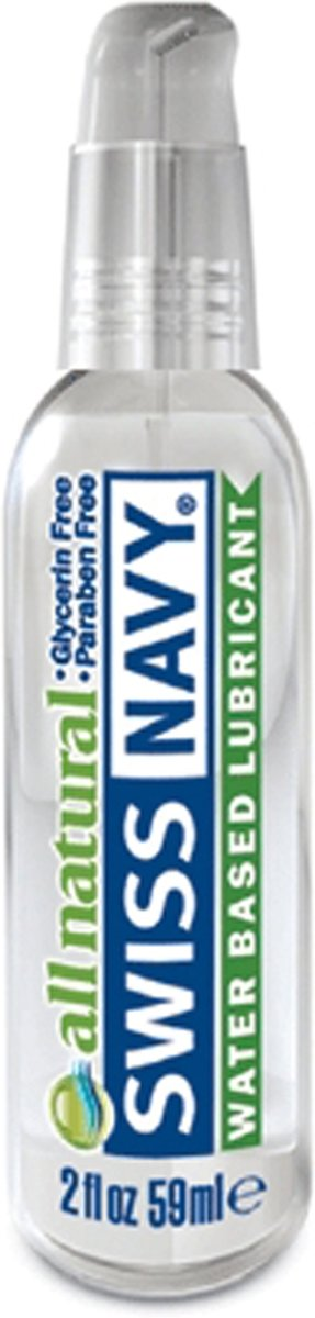 Swiss Navy Glijmiddel All Natural Lube 59 ml